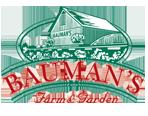 Bauman's Farm & Garden Logo