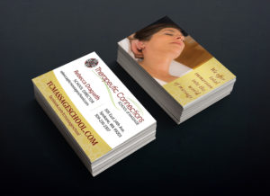 Business Cards - TC Massage School