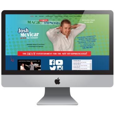 McTrickster - Entertainment Comedy Magician Website