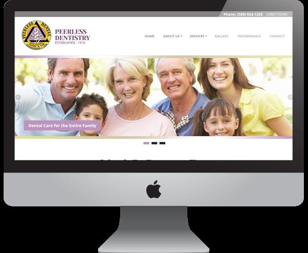 Dental Office Website - Spokane, WA
