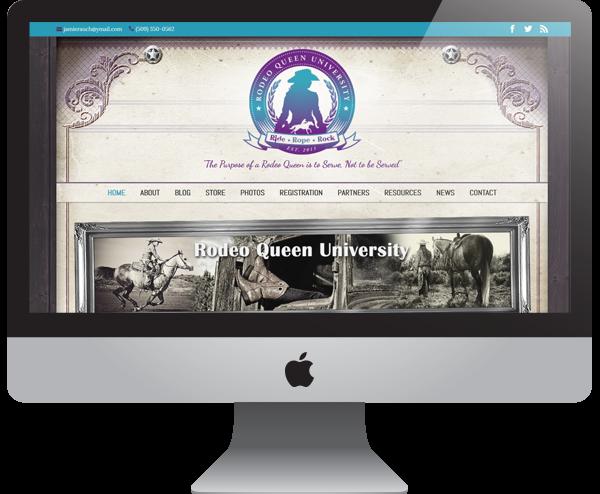 Rodeo Queen University Website