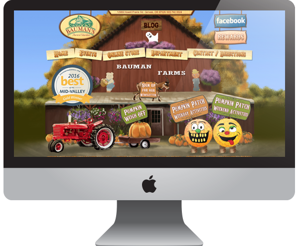 Bauman Farms - Website