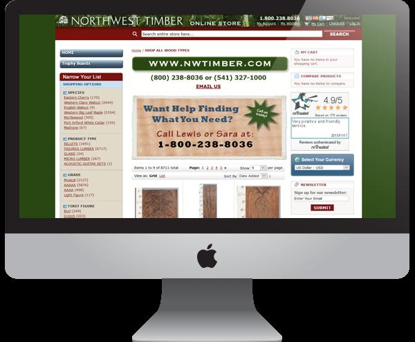 Northwest Timber - Website