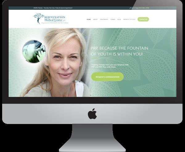 Rejuvenation Medical Center - Doctor Website