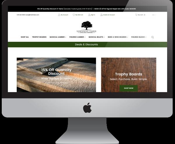 Timber Lumber Website