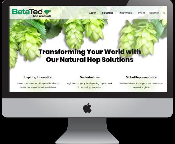 BetaTec Website Design, Ethanol Fuel