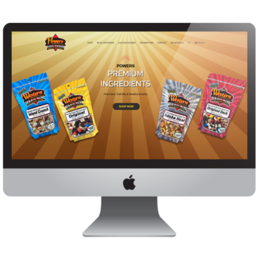 Food Snacks Ecommerce Website