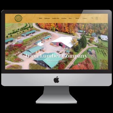 Lumber Company Web Design & Ecommerce